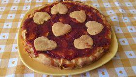 Crostata con Mele e confettura (o marmellata) di Albicocche