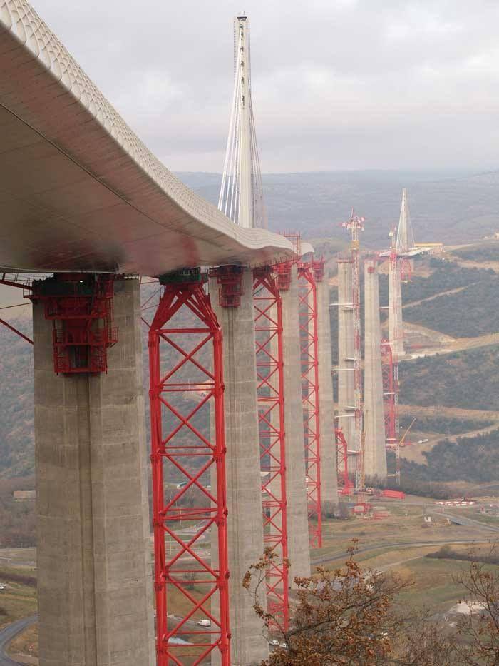 Millau Bridge in France - The Highest Bridge In The World