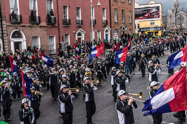 Permian High School, Texas (USA) - St. Patrick's Festival (Dublin)