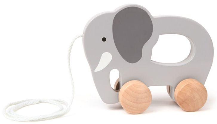 Hape Toys Push and Pull Elephant