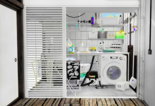 Sims 4 CC's - The Best: Laundry Clutter by Slox