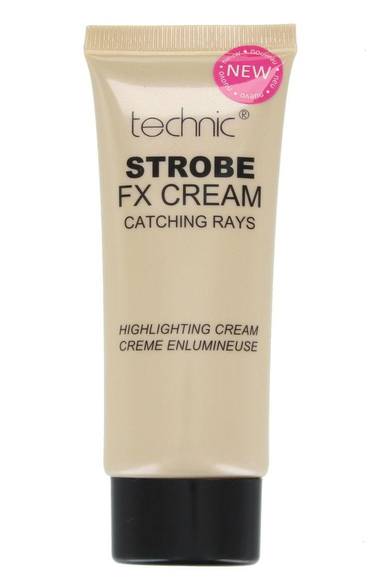 Χάρισε στο δέρμα σου όμορφη λάμψη, κάνε strobing και απόκτησε πιο λαμπερή εμφάνιση με την Technic Strobe FX Cream Highlighting Cream! Εφάρμοσε σε όλο το πρόσωπο πριν το foundation για να δώσεις φυσική λάμψη ή χρησιμοποίησε το τοπικά ως highlighter. H κρεμώδης φόρμουλά του απορροφάται εύκολα (γ