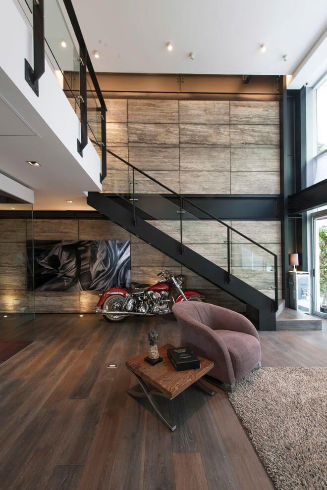 Masculine Penthouse Design ~