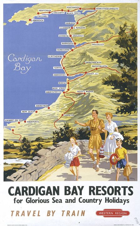 Cardigan Bay Resorts for glorious sea and country holidays - RILEY, Harry