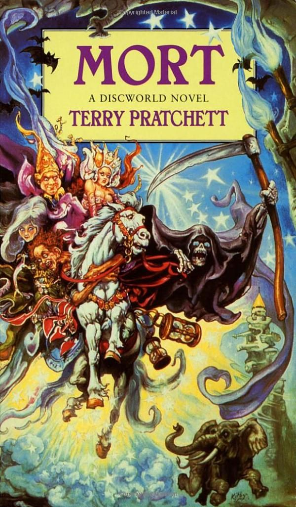 mort terry pratchett essay Over at the judge's guild website they have a recipe for rat on a stick,  american identity essay essay on school development  terry pratchett's mort.