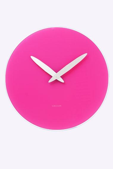 Karlsson Pink Bold Hand Clock