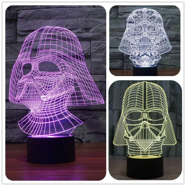 Creative Star Wars Lamparas 3D Led Darth Vader 7 Color Changing LED Desk Light Night Lamp USB Lava Lamp dinning room ideas *** AliExpress Affiliate's Pin. Read more reviews of the product by visiting the link on the image.