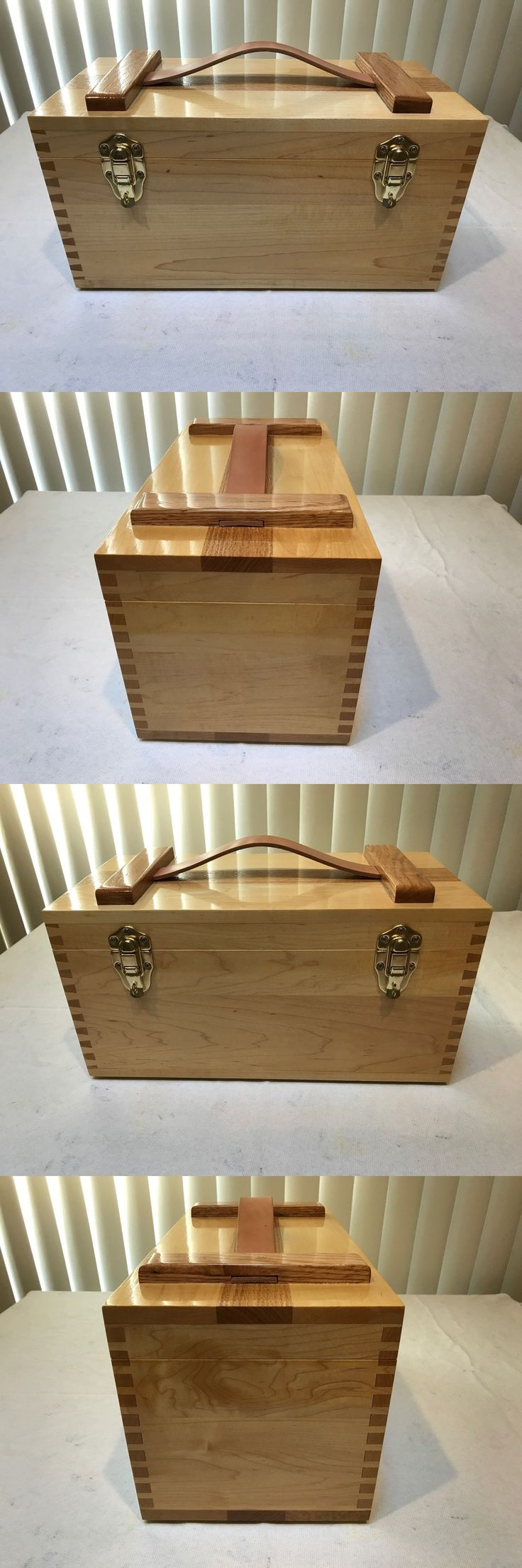 Tackle Boxes and Bags 22696: Handcrafted Wood Fishing Tackle Box -> BUY IT NOW ONLY: $120 on eBay!