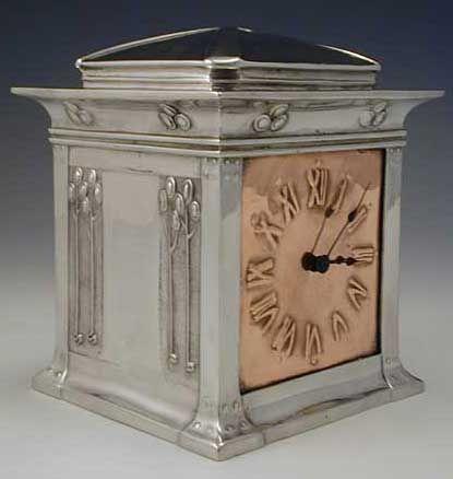 Liberty & Co. Arts & Crafts Clock by David Veasey