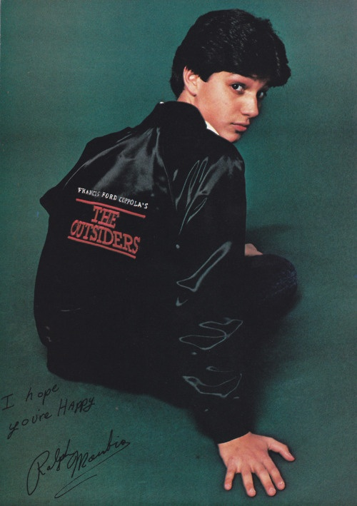 you-dig-okay-baby:    MY JOHNNY <3 RALPH MACCHIO