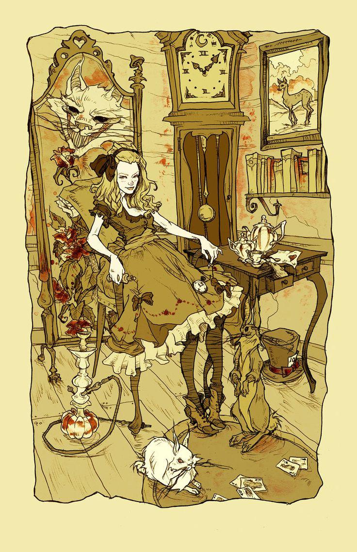 Clever Little Alice By Abigaillarsoniantart On @deviantart