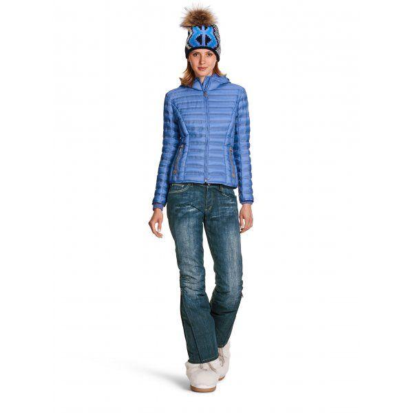 Bogner Malena Denim   Fitted Ski Trousers   Denim Ski Trousers