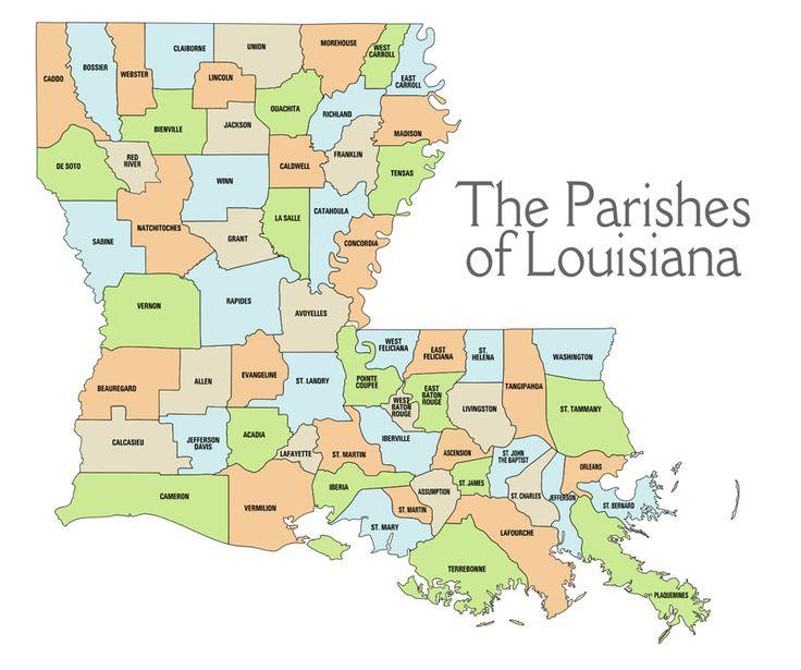 louisiana traditions | Maps of Louisiana's Living Traditions