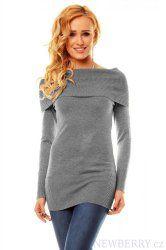 Dámský pulovr Mode šedý