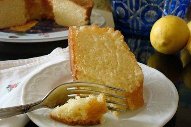 Moroccan lemon cake