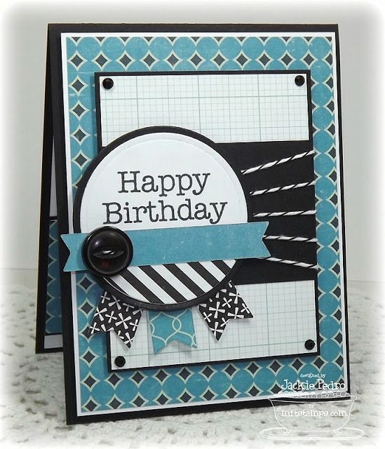 The Scalloped Edge: A Card and an MFT Announcement!!