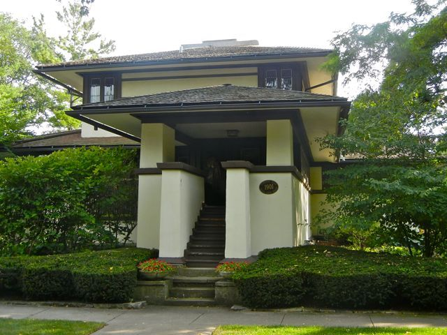 F B Henderson House, 1901 301 S Kenilworth Elmhurst, IL 60126  The Henderson House in Elmhurst is one of Frank Lloyd Wright's earliest, full...