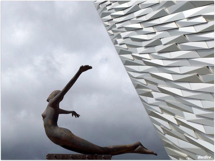 ... si chiama TITANICA quest'opera in bronzo creata dallo scultore irlandese Rowan Gillespie ... http://zibalbar-foto.overblog.com/2014/09/titanica.html