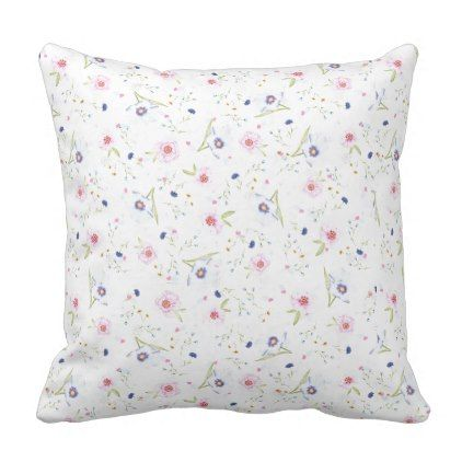 Floral Cushion - home gifts ideas decor special unique custom individual customized individualized