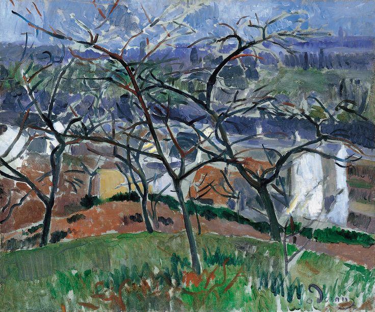 Paisaje en los alrededores de Chatou 1904-1905