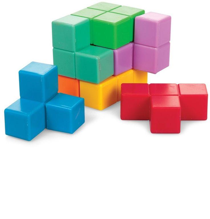 3D Tetris kocka puzzle