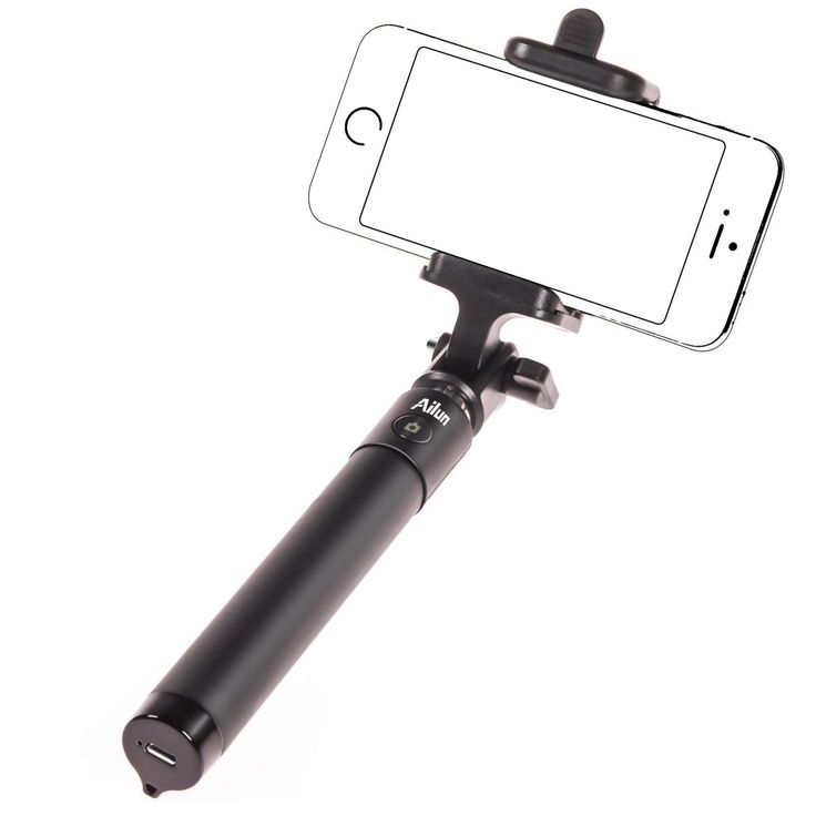 Bluetooth Selfie Stick built-in Bluetooth Remote Shutter For Smartphones NEW