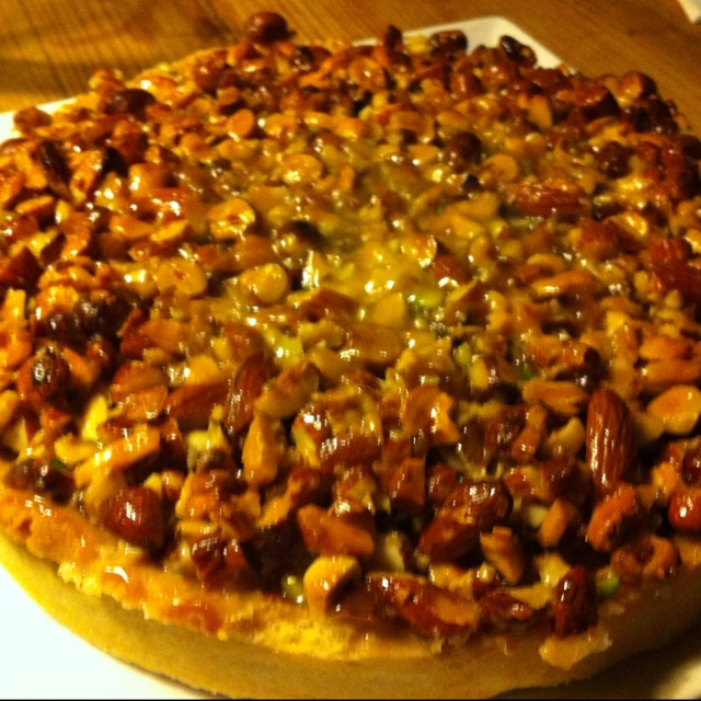 A nuts cake