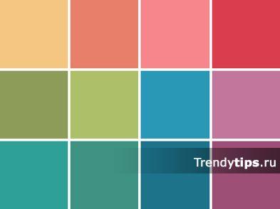 Яркие цвета используют в аксессуарах, вечерних нарядах, в спортивной одежде. Они всегда привлекают к себе своим насыщенностью цветом. Их часто используют как цветовые акценты, способные оживить наряд