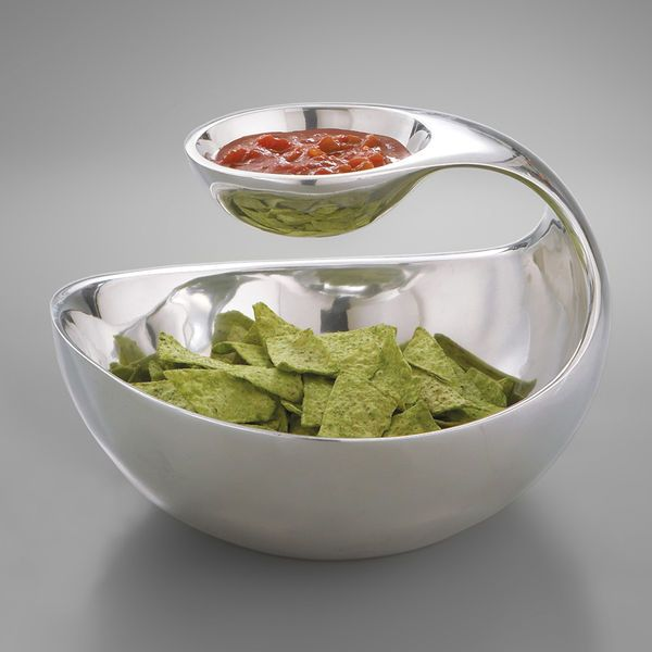Nambe Scoop Server: Ideas, Serving Bowls, Namb Scoop, Chips Dips, Dips Bowls, Scoop Server, Products, Design, Kettles Corn
