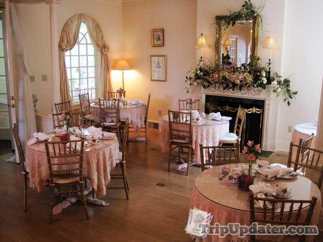 The johnston house tea room we had my friend 39 s baby for Tea room interior design ideas