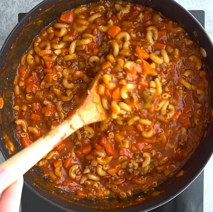 soupe repas classique boeuf tomate et macaroni recettes. Black Bedroom Furniture Sets. Home Design Ideas