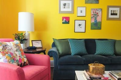 House Tour: A Color-Splashed Home in D.C. | Apartment Therapy