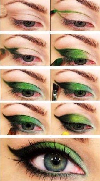 Tutorial: Ojos verde esmeralda