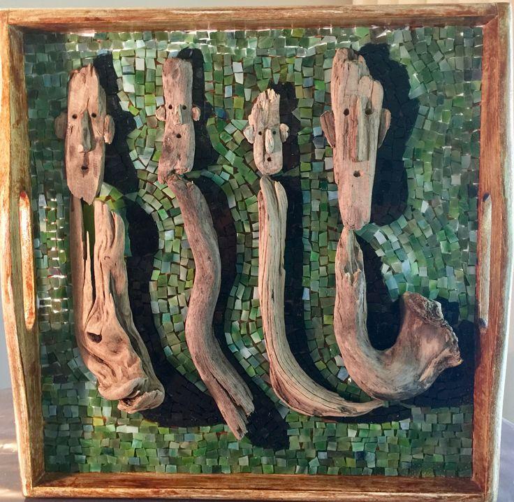 Wood & Mosaic