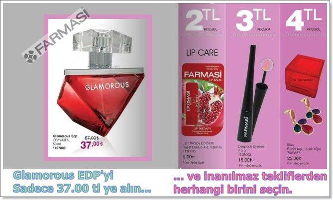 Glamorous EDP'yi Sadece 37.00 tl ye alın... ... ve inanılmaz tekliflerden herhangi birini seçin. www.farmasi.peacocksem.com