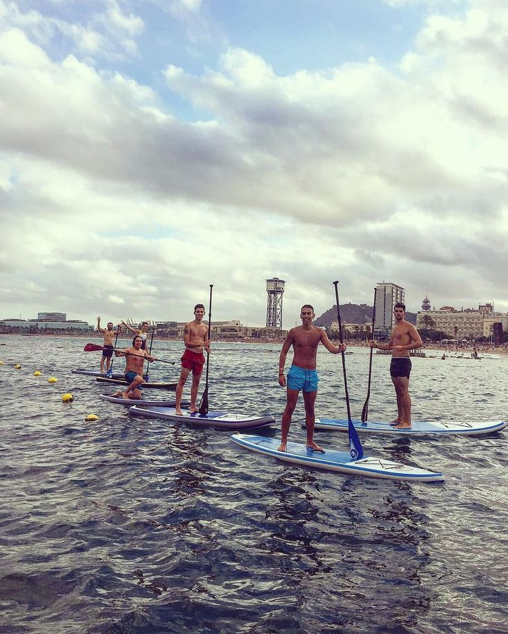 Sup Surf in Barcelona / STAND UP PADDLE