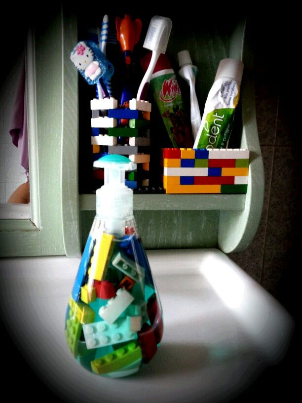 Lego in bagno