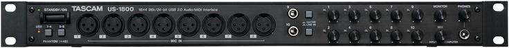 Tascam US-1800  16x4 USB Audio Interface