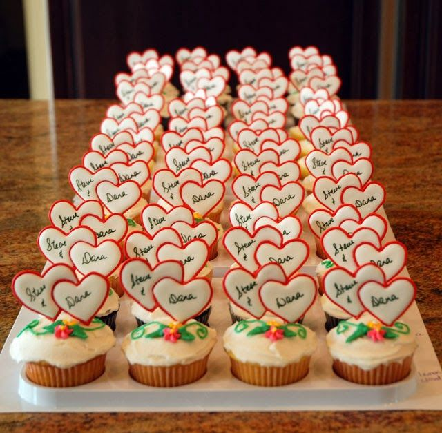 Cupcake Decorating Ideas For Wedding Showers : 53 best images about Wedding Cupcakes on Pinterest ...