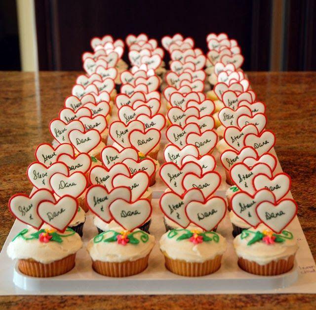 Small Dress Cupcake Cake