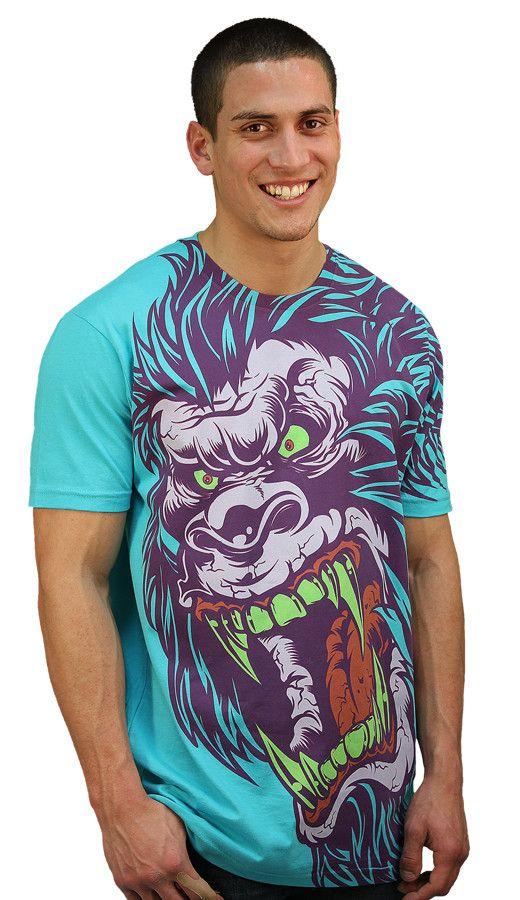 Sasquatch Frenzy custom t-shirt design by Mr Nicolo