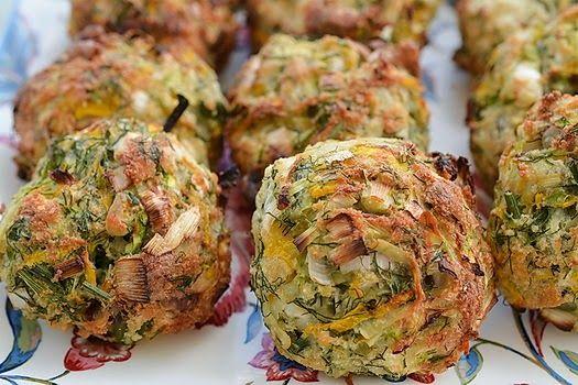 Sütőben sült zöldség-pogácsák