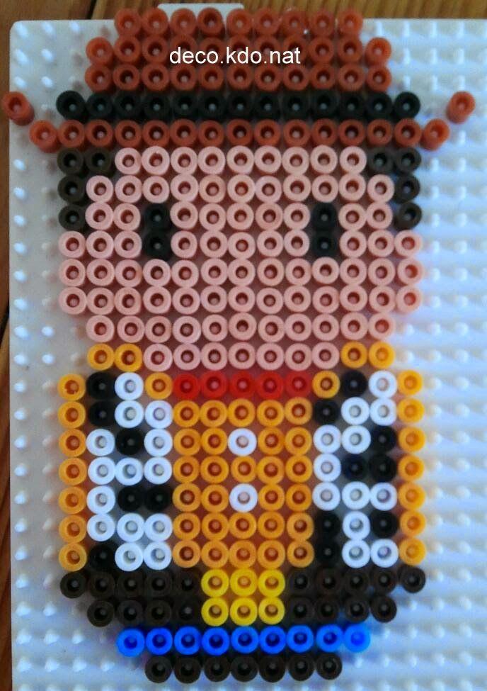 Woody Toy Story hama perler beads by deco.kdo.nat