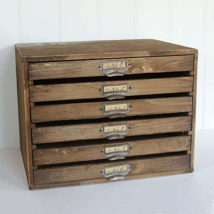 Wooden Letter Draws £55
