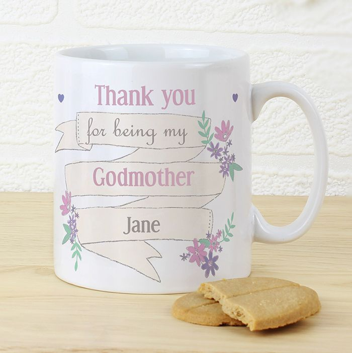 Garden Bloom Mug -  This mug can be personalised and is an ideal gift for Mother's Day.