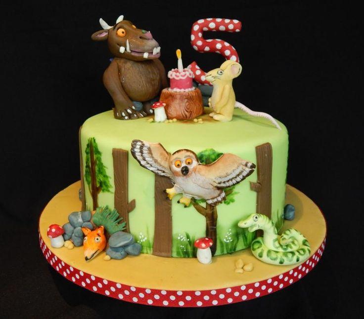 Gruffalo cake Elizabeth Miles Cake Design