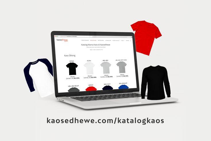 Buat kalian nih yang bingung, warna kaos mana yang cocok, bisa cek Katalog Warna Kaos Kaosedhewe di kaosedhewe.com/katalogkaos  Ada pertanyaan? klik kaosedhewe.com/kontak atau Whatsapp +6285212348833 Datang ke workshop kami di Jl. Kedungmundu Raya no 65 Semarang, Jawa Tengah Kunjungi website kami di kaosedhewe.com - Tempatnya Bikin Kaos Satuan #kaossablonsatuan #kaossablon #kaos #sablon #satuan #sablonsatuan #kaossemarang #semarang #sablonkaossatuan #sablonkaos #kaossatuan #sablonsemarang