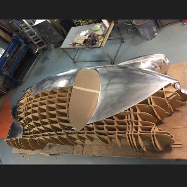 rod ida built tucker torpedo concept car based on original preston tucker 1 4 scale clay. Black Bedroom Furniture Sets. Home Design Ideas