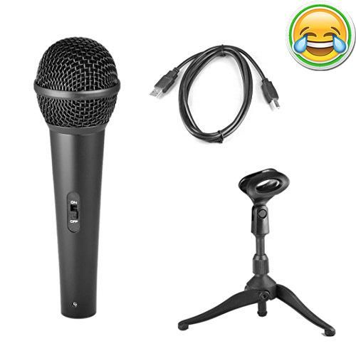 #bestdeal Perfect for Vocals and Instrument Audio - Microphone Type: #Dynamic - USB Cable Length: 6.5' Feet - USB Recording Microphone - Full Range Sound Reprodu...