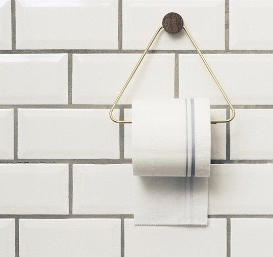 The World's Most Beautiful Toilet Paper Holders (!) | Apartment Therapy